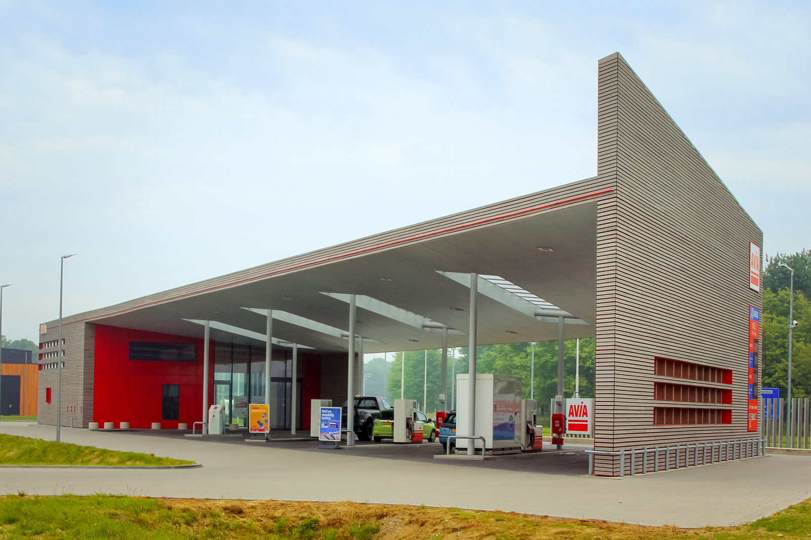 Avia filling station Den Oever